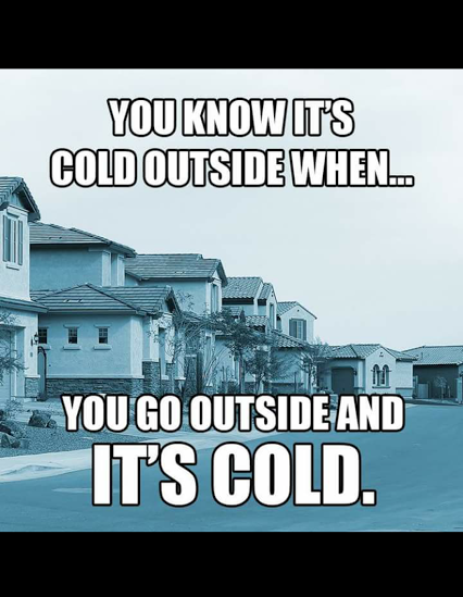 Cold Outside | Funny Pictures, Quotes, Pics, Photos, Images