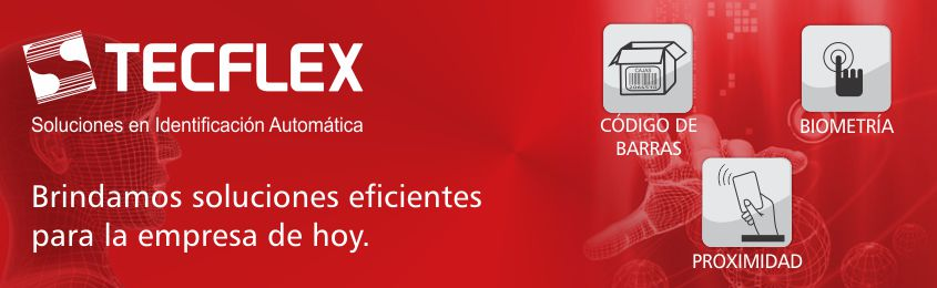 Tecflex - Codigo de barras, Biometria, Proximidad