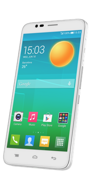 Alcatel OneTouch Flash - Crystal White