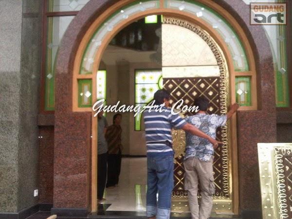 Pintu Masjid - Pintu Masjid Al Amin Cikarang - Gudang Art