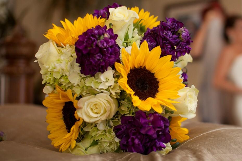 Purple And Sunflower Wedding Theme Choice Image Wedding Decoration