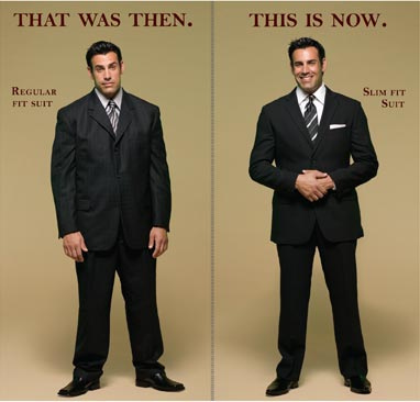 Slim Fit Or Regular Fit Suit | My Dress Tip