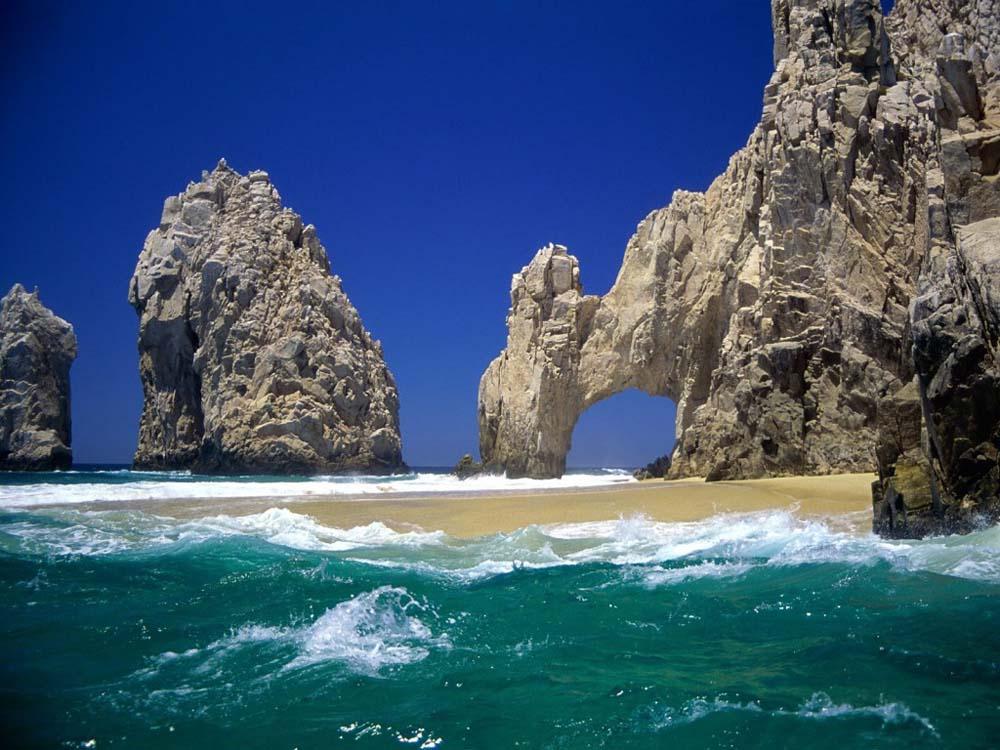 Locais mais belos do mundo - Arco do Cabo São Lucas - México