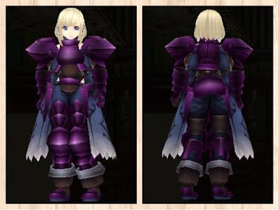 プレートアーマー 紫1染色