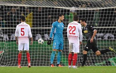 Crónica Borussia Mönchengladbach 4 Vs Sevilla FC 2