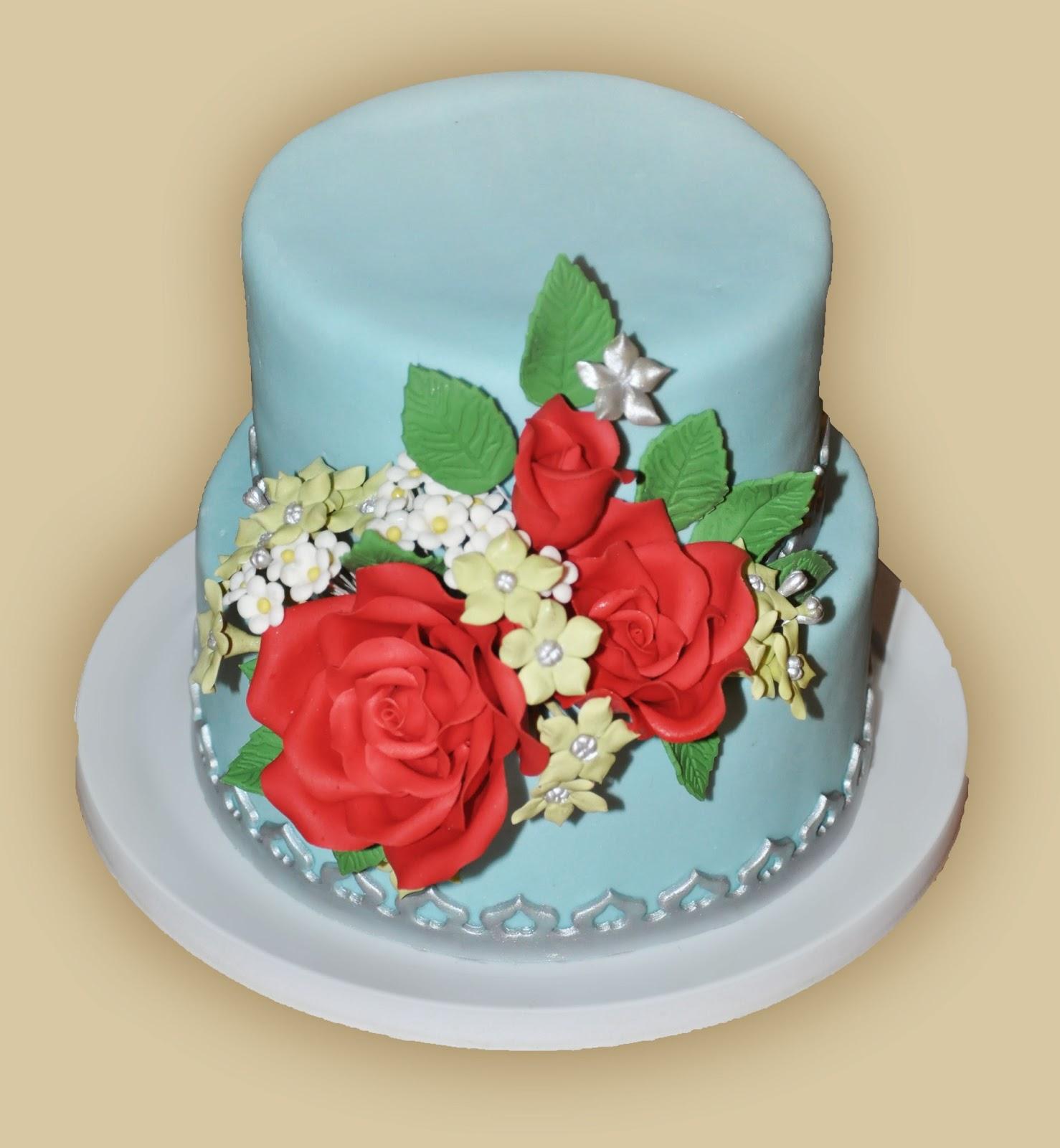 Кремовые свадебные торты фото - советы по выбору, варианты оформления 85