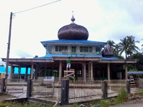 renovasi masjid ubudiyah ganda