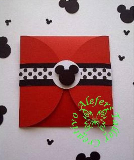 Invitaciones Personalizadas De Mickey Mouse