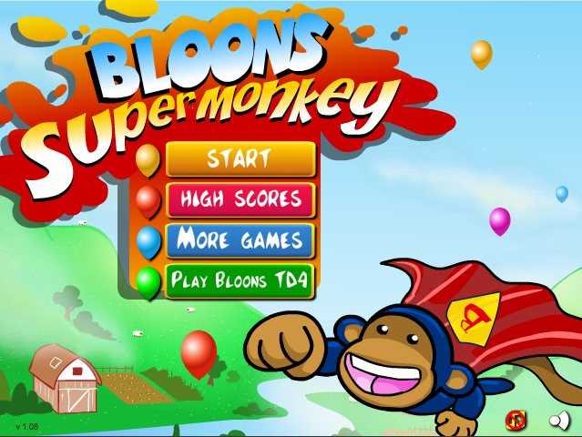 Balloon Pop Monkey Game Balloon Monkey Games