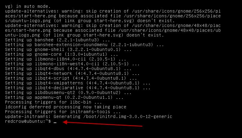 how to start gui in ubuntu server