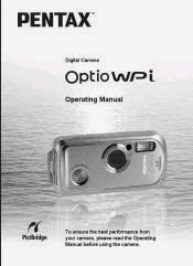 PENTAX OPTIO E10 USER MANUAL