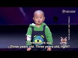 Amazing Dance from a 3 Year Old Chinese Boy - Zhang Junhao