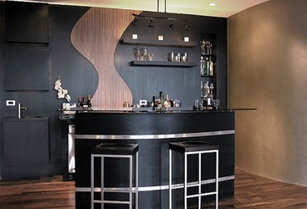dise os de bares para decorar colores en casa On modelos de bares modernos para casas