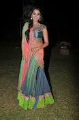 Manasa Glamorous Photos in Half saree-thumbnail-11