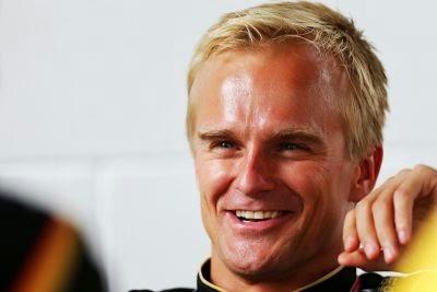 DTM test Heikki Kovalainen