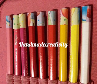 how to recycle old pencil colors tutorial handmadecreativity