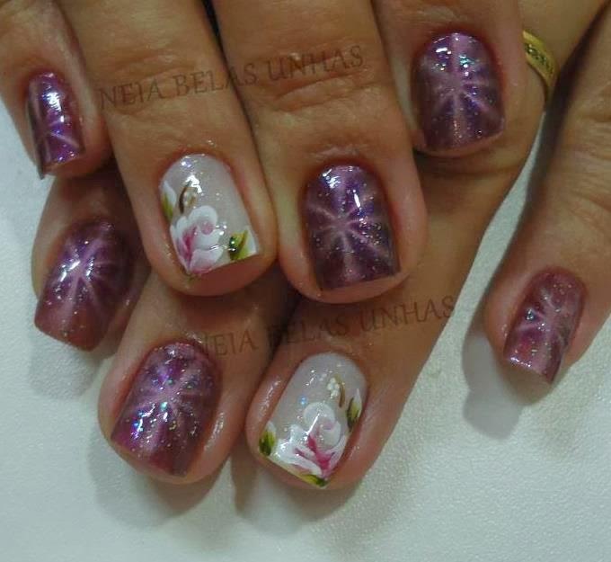 Uñas decoradas - Diseños de uñas - Decoración de uñas con gel 2017 ...