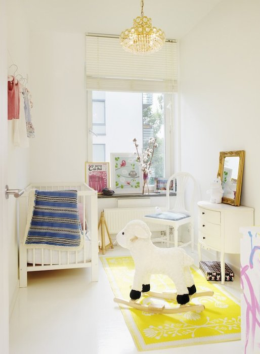 15 small baby nursery design inspiration small nursery ideas - Baby room ideas small spaces property ...