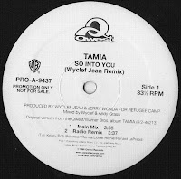 Cover Album of Tamia - So Into You (Wyclef Jean Remix) Promo VLS 1998
