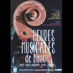 Les heures musicales de Binic