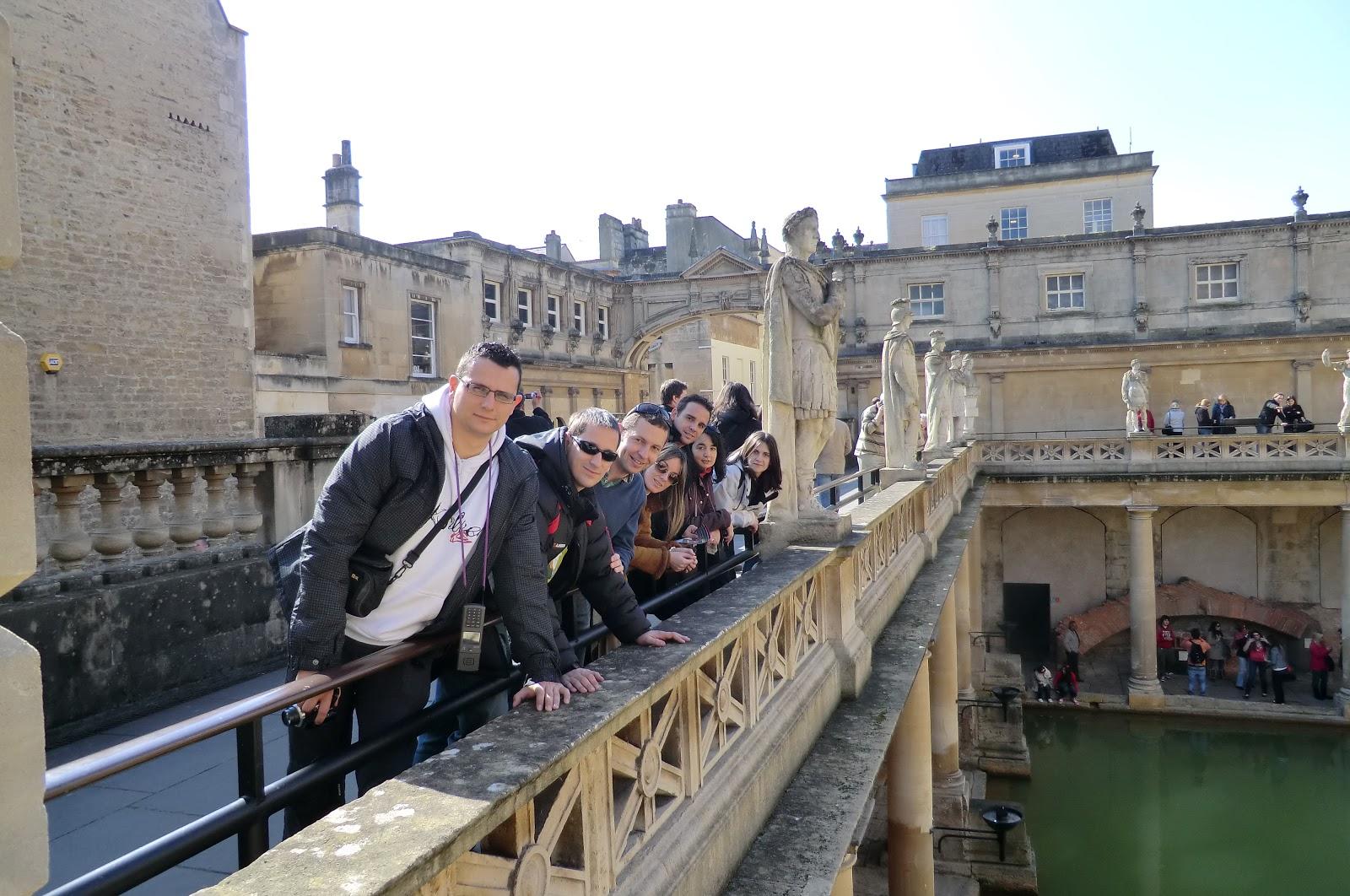Baños Romanos En Bath:El mundo a tus pies: Weekend en Bath y Bristol I