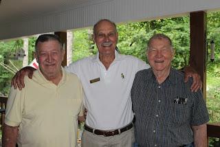l to r: Bill, Clayton, Eddie - hey, Uncle Eddie!!