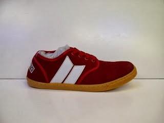 Sepatu Macbeth Langley Skate merah putih