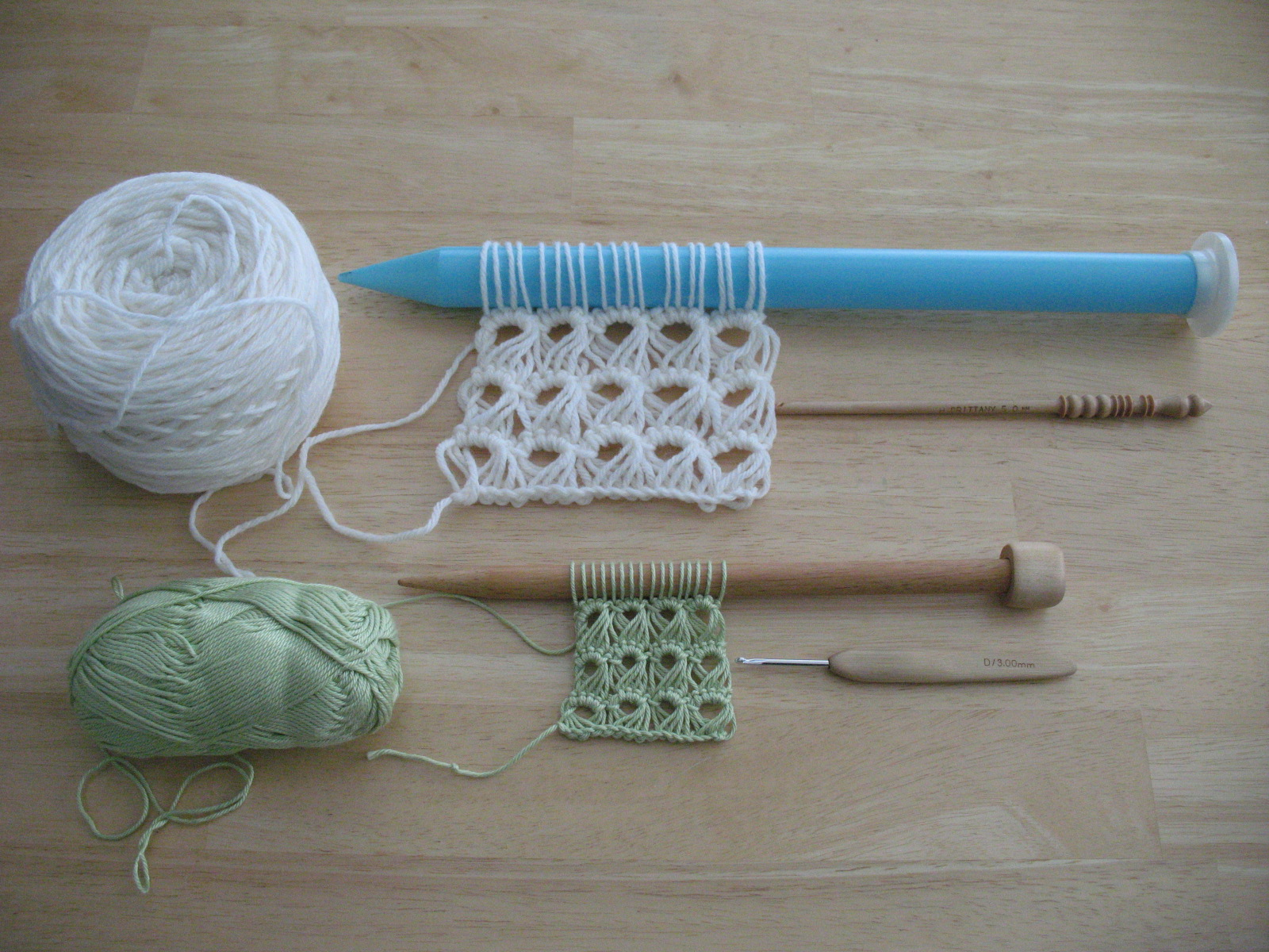 Crochet Stitches Broomstick Lace : Broomstick Lace!