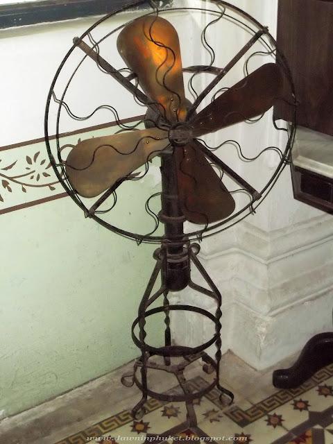 Paraffin operated fan. Phuket
