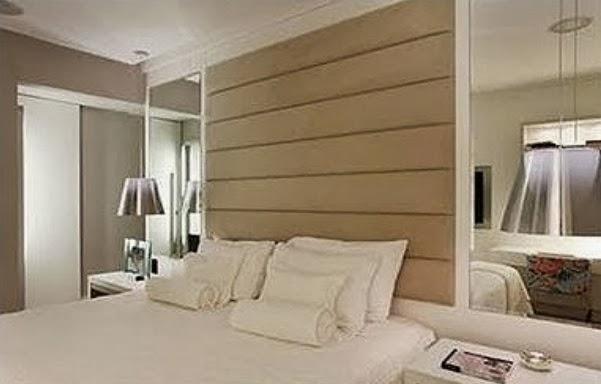 Construindo minha casa clean cabeceiras de cama na for Espejos grandes para dormitorios