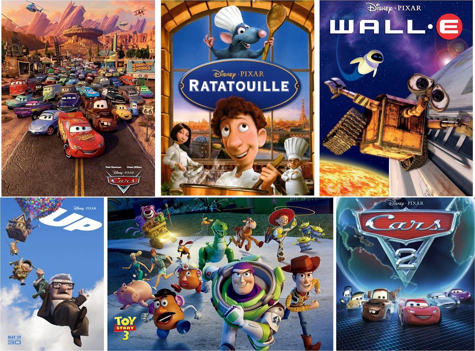 Animated disney movie list