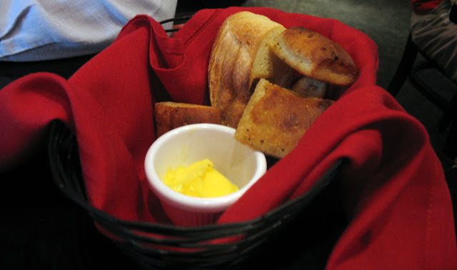 Basket of Hot bread from Tomato Cafe