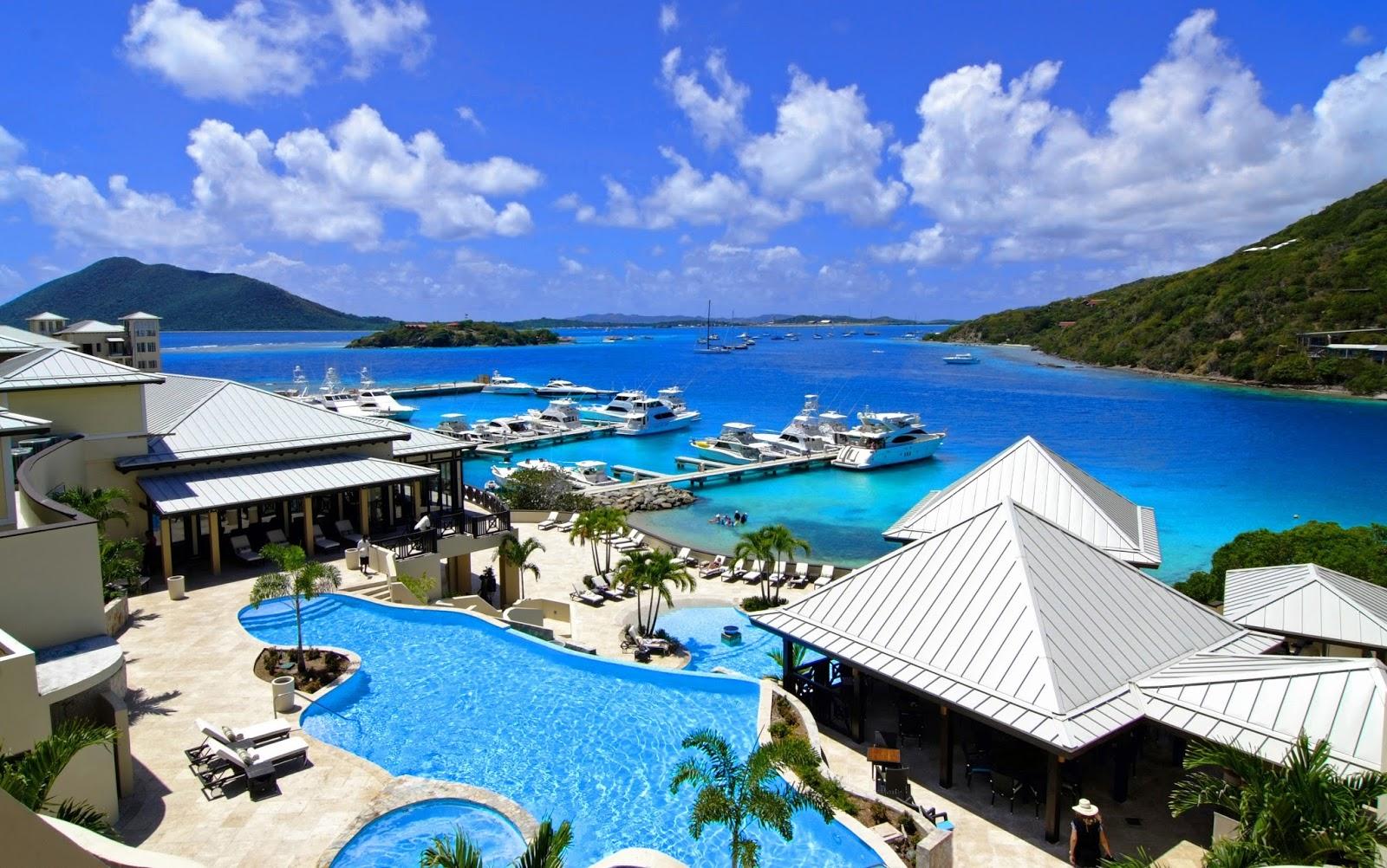 Download this Caribbean British Virgin Islands Scrub Island Resort picture