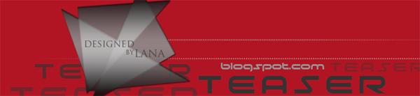 Teaser header, modern header design, triangleshape header