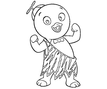 #1 Pablo Coloring Page