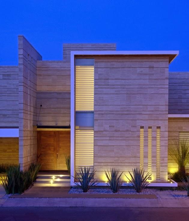 Casas minimalistas y modernas casa minimalista en mexico for Viviendas minimalistas