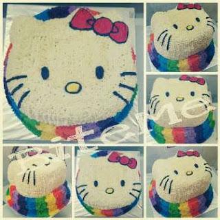 Rainbow Cake, Kue Pelangi