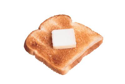 Mmm. Toast.