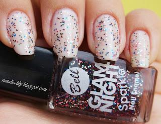 http://natalia-lily.blogspot.com/2013/10/bell-glam-night-sparkle-nr-01-kolorowy.html