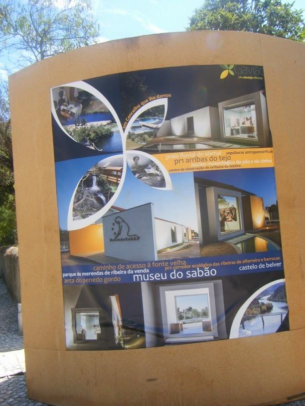 Informação das Arribas do Tejo e Museu do Sabão