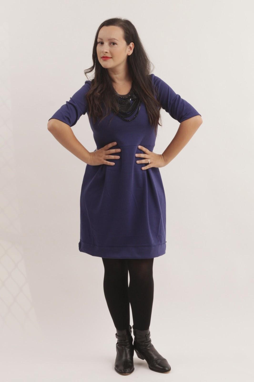 The Winter Street Dress - Julia Bobbin