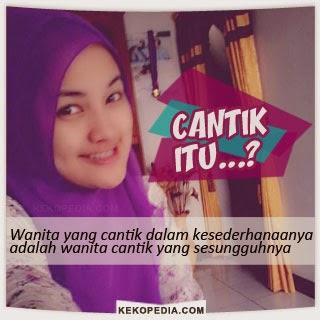 Dp BBM Wanita Muslimah Cantik