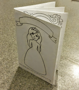 -------- Mini Princess Coloring Book ---------