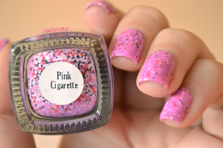 Gloss 'n Sparkle - Pink Cigarette