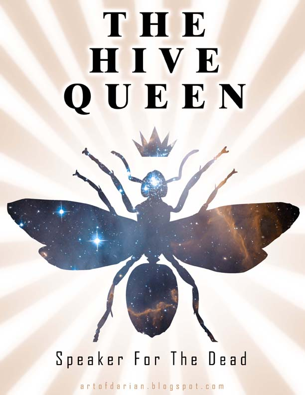 "Picture of the Book Cover for ""The Hive Queen"""