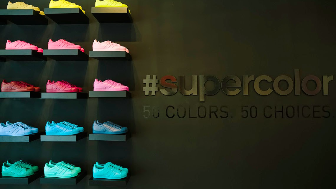 0a5481a0280 The Style Show  Adidas Originals Superstar Supercolor Pack X Pharrell