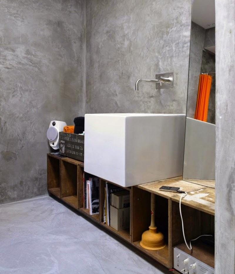 taller de carpintería convertido en un loft en Florencia