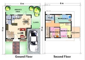 Model house design