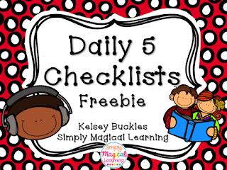 https://www.teacherspayteachers.com/Product/Daily-5-Checklist-1999527