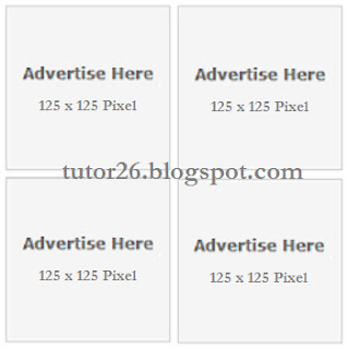 Cara Bikin/Buat Kotak Iklan (Banner Box-4 Kolom)